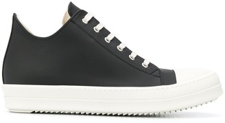 Rick Owens Lace-Up Low-Top Sneakers