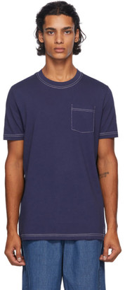A.P.C. Navy Axel T-Shirt