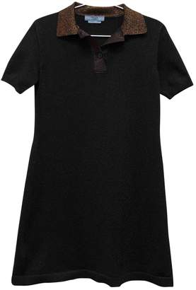 Prada Black Glitter Dresses