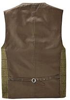 Black Label Checked Wool Waistcoat