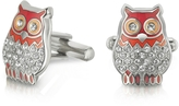 Forzieri Fashion Garden - Owl Cufflinks