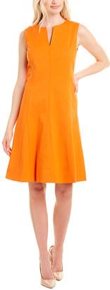 Lafayette 148 New York Rochelle A-Line Dress