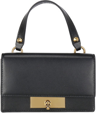 Alexander McQueen Skull Top Handle Crossbody Bag
