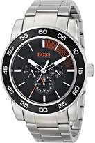 BOSS ORANGE Men's 1512861 Canon Ball Analog Display Quartz Silver Watch