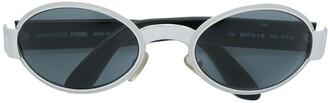 Gianfranco Ferré Pre-Owned Oval Frame Sunglasses