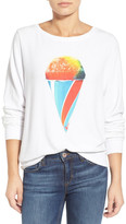 Wildfox Couture Brain Freeze Graphic Pullover