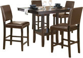 JCPenney Hillsdale House Arcadia 5-pc. Dining Set with Parson Stools
