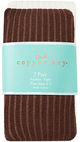 Copper Key 2-Pack Heavy Ribbed Tights