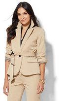 New York & Co. 7th Avenue Design Studio - Tie-Waist Jacket - Runway Fit - SuperStretch
