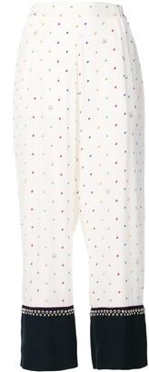 Stella McCartney Printed Studded Trousers