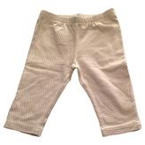 Fendi Beige Cotton Trousers