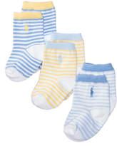 Polo Ralph Lauren Ralph Lauren 3-Pk. St. James Striped Crew Socks, Baby Boys (0-24 months)