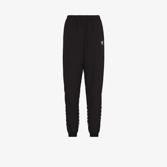 adidas Trefoil print track pants