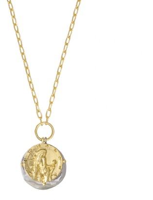 Wanderlust + Co Asteria Goddess Gold Necklace