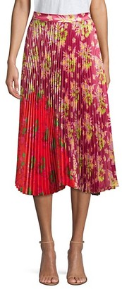 DELFI Collective Clara Floral Contrast Skirt