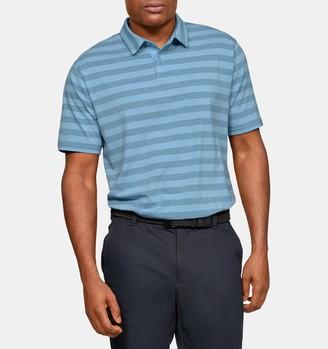 Under Armour Men's UA Charged Cotton Scramble Stripe Polo
