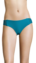 Mikoh Italia Fuller Coverage Macrame Bikini Bottom
