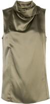 ADAM by Adam Lippes draped neck blouse