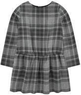 Bonpoint Checked wool blend dress