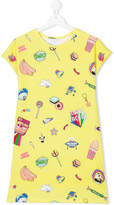 Little Marc Jacobs multi-printed T-shirt dress