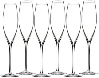 Waterford Six-Piece Elegance Classic Champagne Toasting Flute Set