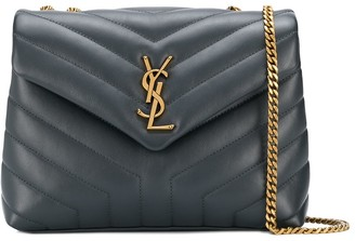 Saint Laurent Loulou quilted shoulder bag
