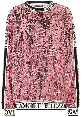 Dolce & Gabbana Sequined sweatshirt