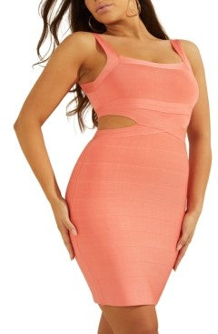GUESS Alessia Open-Back Bandage Dress