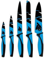 Carolina Panthers 5-Piece Cutlery Knife Set