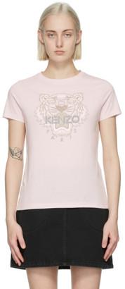 Kenzo Pink Classic Tiger T-Shirt