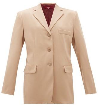 Sies Marjan Molly Single-breasted Wool-twill Blazer - Beige