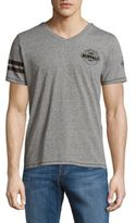 Buffalo David Bitton V-Neck Short-Sleeve Tee