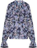 Temperley London Captain Print Blouse