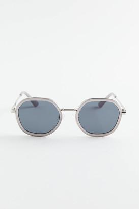 Skya Combination Hexagon Sunglasses