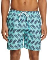 Trunks Pineapple Print San O Board Shorts