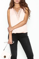 Do & Be Lace Inset Top