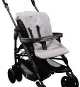 Inglesina Zippy Stroller Summer Cover Accessory, Light Grey