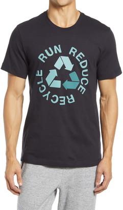 Zella Run Reduce Recycle Men's Organic Cotton Graphic Tee