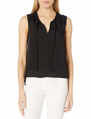 French Connection Women's ft New Belle Crepe Top