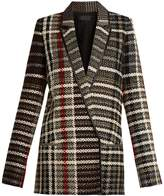Haider Ackermann Renior peak-lapel tweed blazer