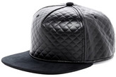 Gents Night Rider Faux Leather Cap