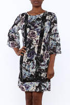 KUT from the Kloth Floral Peasant Dress