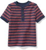 Old Navy Textured-Stripe Henley for Toddler Boys