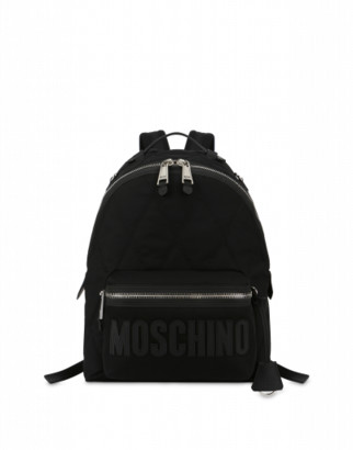 Moschino Cordura Nylon Quilted Backpack
