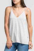 Lush Gray Cami Top