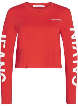Calvin Klein Jeans Institutional Back Logo Long Sleeve T Shirt