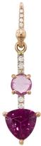 Irene Neuwirth Double Pink Tourmaline Single Earring