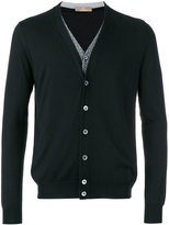 Cruciani v-neck cardigan - men - Silk/Cashmere - 50
