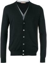 Cruciani v-neck cardigan - men - Silk/Cashmere - 50