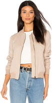 Sincerely Jules Girl Bomber in Taupe. - size L (also in )